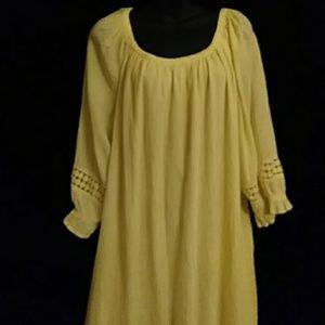 Lane Bryant lined cotton dress- sz 14/16